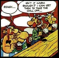 Asterix cartoon