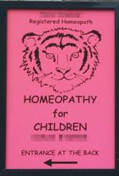 Homeopathy for Children sign