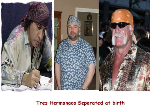 Tres Hermanaos Separated at Birth
