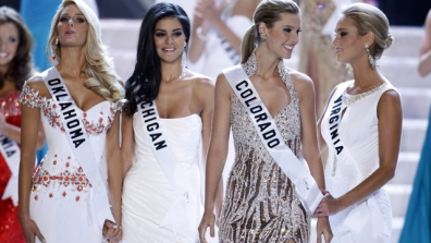 Scared to death Miss USA contestants