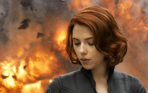 Scarlett Johansson exploding