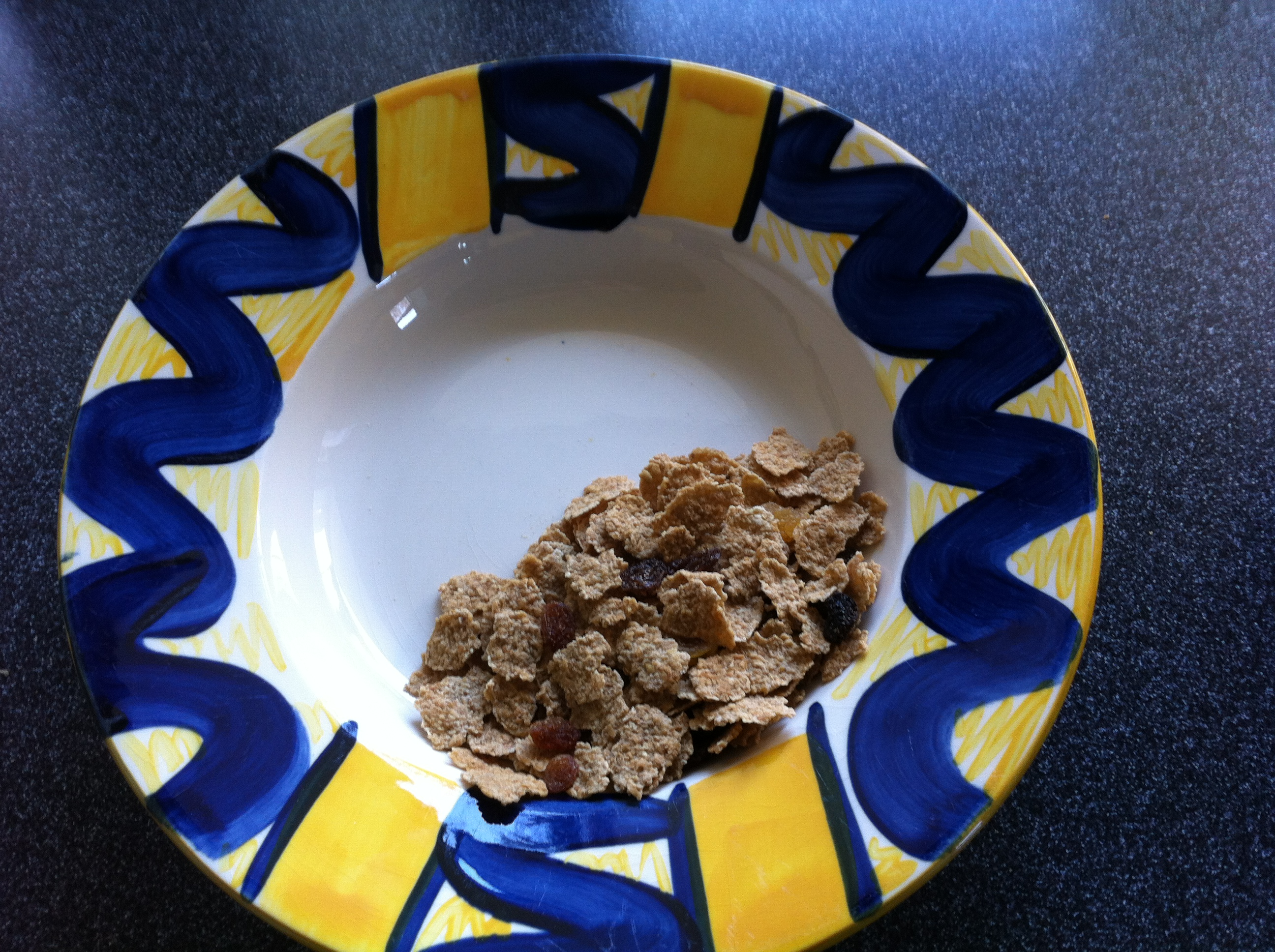 40g of breakfast cereal