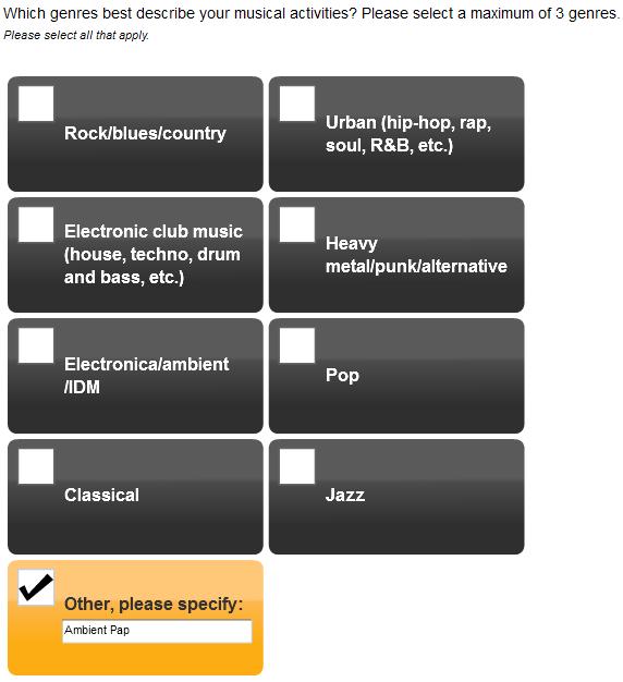 SoundCloud survey