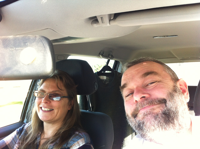 En route to Bangor