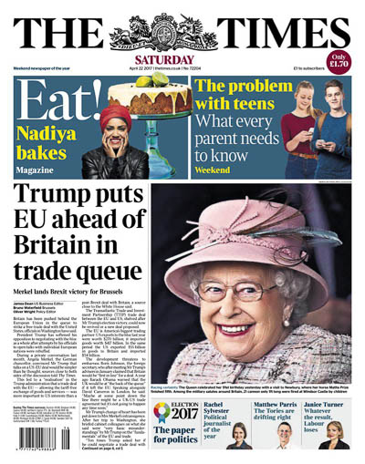 Times Trump puts EU ahead