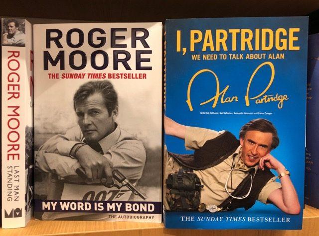 Partridge meets Bond.