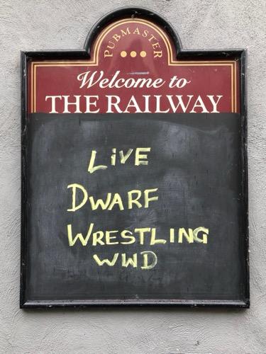 Live Dwarf Wrestling