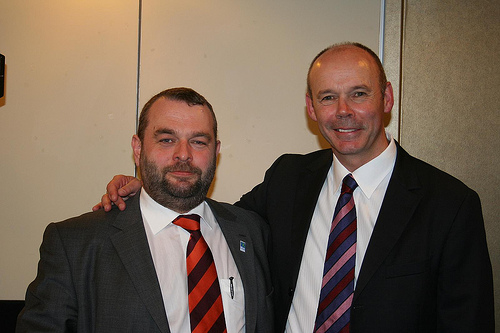 Me and Sir Clive Woodward