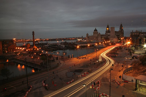 Liverpool Just Before Dawn