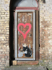 'Liverpool Love Rat' by Banksy